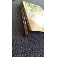 China Stainless Steel Trim Molding, Stainless Steel Edging & Stainless Steel Strips wholesale