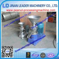 China China supplier peanut butter making machine for peanut/bean/nuts with factory price&CE/ISO wholesale