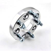 China Forged and Silver Aluminum 4X100 Wheel Spacers Adapters for Car wholesale