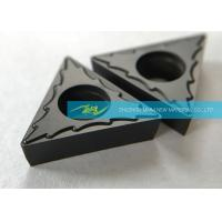 China Steel Finishing Carbide Turning Inserts With Excellent Chip Breaking Effect wholesale