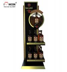 Buy cheap Eye Catching Pop Merchandise Displays Store Equipment Beer Display Racks from wholesalers