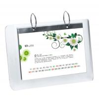 China 5mm OEM White Country Acrylic Calendar Holder / Plexiglass Desk Stand SGS wholesale
