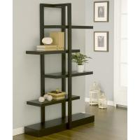 China Modern Wood MDF Display Stands America Addison Cappuccino Bookcase Furniture wholesale