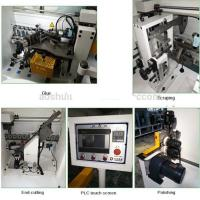 China Straight Line Auto Edge Banding Machine 9.5kw For Kitchen Wood Cabinet Door wholesale