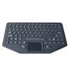 China 89 key Silicone backlit  ruggedized keyboard with sealed touchpad , optional trackball wholesale