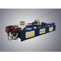 Buy cheap Automatic pipe bending machine with PLC system controller for steel racks from wholesalers
