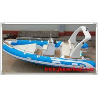 China Durable 18 Foot Hard Bottom Inflatable Rib Boats 10 Person Inflatable Boat wholesale