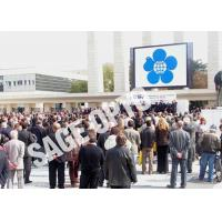 China Outdoor SMD P6 LED Video Walls Full Color Interactive Advertising LED Billboard wholesale