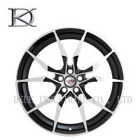 China High Profile Forged Racing Alloy Wheels 20 Inch / Black Chrome Wheels For Vehicle on sale