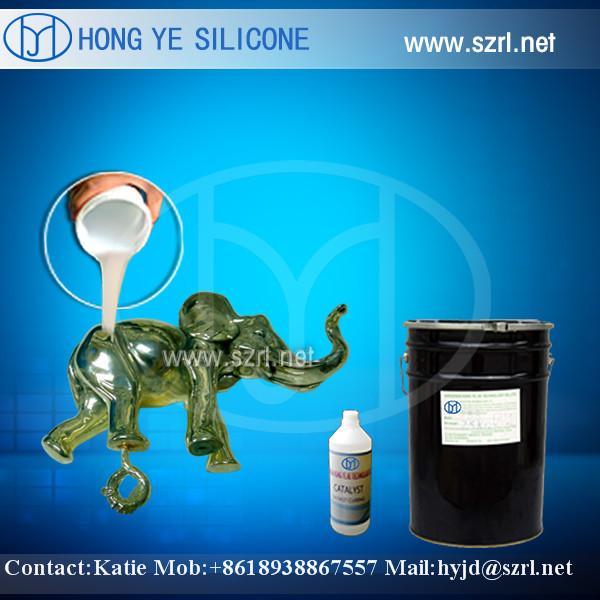 Quality RTV 2 liquid silicone rubber  for bronze statue casting for sale