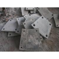 Buy cheap High Cr Steel Blind Plates Cement Mill Liners Hardness HRC43-52 from wholesalers