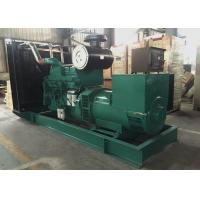 Quality Green Commercial Diesel Generators With Stamford Alternator for sale