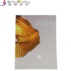 China Building Saddle Stitch Catalog Paper Printing Services Logo Custom wholesale