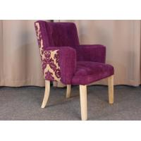 China Classic Modern Fabric Armchairs For Living Room With Solid Oak Wood wholesale