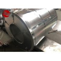 China Hot Dipped Galvanized Steel Coil / Cold Rolled Steel Coil 600mm - 1250mm Width wholesale