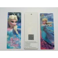China 3D Lenticular Personalised Bookmarks For Schools , Bookmark Printing Services wholesale