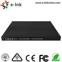 China Managed Ethernet Switch Fiber Optic 24 10Gbps SFP+ ports + 4 Gigabit TP / SFP combo ports wholesale