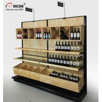 China Commercial Wine Display Racks And Liquor Shelving For Wine Stores / Shops wholesale