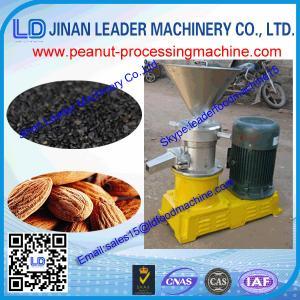 China 400-500kg/h high capacity Adjustable peanut grinding machine for sesame/peanut/nuts tahini wholesale