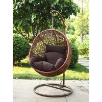 China Hanging swing chair /rattan swing chair wholesale
