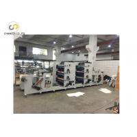 China 6 colors plastic film paper bag jumbo roll flexo printing machine price wholesale
