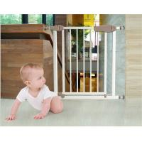 how to fix child gate to stairs one side wall