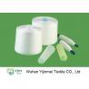 China 40/2 Ring Spun RS RW Polyester Spun Yarn On Plastic Or Paper Cone Or Sample Testing wholesale