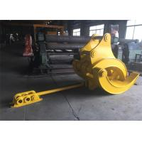 Buy cheap Mechanical Big Excavator Grapple For Komatsu PC340 and PC450 Heavy Duty from wholesalers