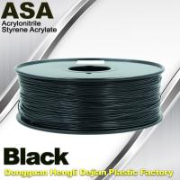 China Anti Ultraviolet ASA UV 3D Printer Filament 1.75 / 3.0mm 3d Printing Filament wholesale