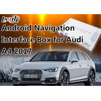 China 7 Inch Audi Multimedia Interface for 2017 A4 4G MMI with GPS 16GB Flash MirrorLink wholesale