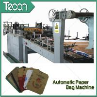 Quality 3 Kraft Paper 1 PP Film 20KG Ceramic Adhesive Paper Bag Making Machine Driven By Schneider Electric Motor for sale