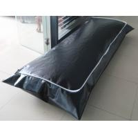 China Black Air Tight 16Mil PEVA Body Bags for Contagious Diseases Ebola wholesale