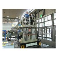 China 12m Stable Vertical Aluminum Work Platform For Continuous Aerial Working wholesale