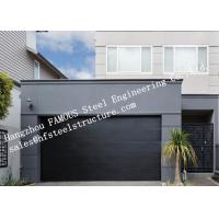 China Modern Concept Well Insulated Sectional Garage Doors Easy To Operate Electrically Or Manually wholesale