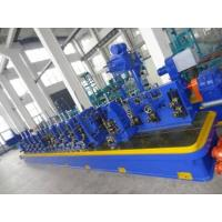 Quality High Precision Q195 / Q235 Straight Seam Welded Tube Mill Line ZG165 for sale