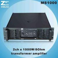 China Professional Amplifier (MS1000) wholesale