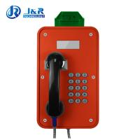 China Tunnels Outdoor Weatherproof Telephones / Industrial Analog Telephone With LCD Display wholesale
