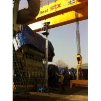 Quality Trailer Mounted Vertical Single Mast Lift 8 Meter Mobile Elevating Working for sale