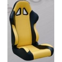 China Comfortable Black And Yellow Racing Seats , Custom Racing Seats For Cars wholesale