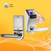 China Hidden Keyhole Remote Control Password Door Lock  with Low Voltage Warning wholesale