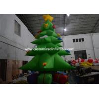 Quality Customized Giant Inflatable Christmas Tree Yard Decoration , Inflatable Tree for sale