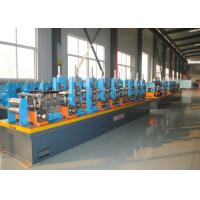 China High Frequency Welding ERW Pipe Mill , Carbon Steel Tube Making Machine wholesale