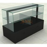 Quality MDF Display Stands Acrylic Window Displays For Retail Stores Black for sale