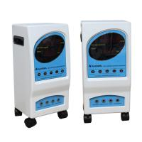 China Professional Rectangle Electrostatic Therapy Machine With Blue White Wheel wholesale
