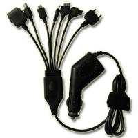 China 7 In 1 Black USB Car Chargers 5V 12W For Automotive Electronic Products wholesale