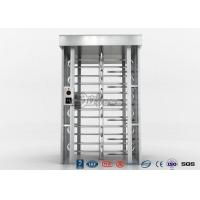 Quality Indoor Or Outdoor Pedestrian Turnstile Security Systems Semi-Auto Mechanism for sale