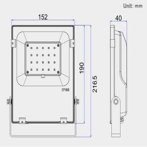 China Thin SMD LED Flood Light 5 Years Guarantee SMD Flood Light ETL DLC CE Listed wholesale