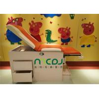 Quality Orange Small Exam Table MJSD03-08 Two Drawers For Children Treatment for sale