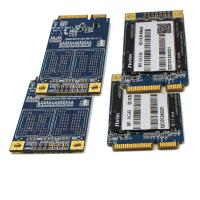 MLC Nand Flash mSATA SSD SMI2246XT Mini PCIe 8GB 16GB 30 * 50 Mm
