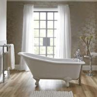 China 4 Foot Multi Color Acrylic Massage Bathtub Good Heat Retention With Mobile Faucet wholesale